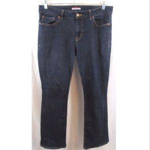 Tommy Hilfiger Curve Bootcut Dark Wash Jeans 12
